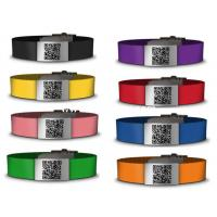 Custom made Silicone & Stainless steel ID Bracelet, Medical ID wristband Manufactures