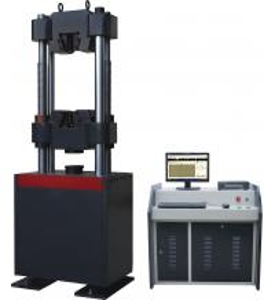 China Manual Hydraulic Tensile Test Universal Testing Machines Panasonic Servo Motor on sale