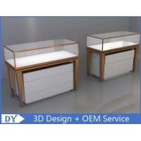 Modern Luxury MDF Stainless Steel Jewellery Counters For Shop Manufactures