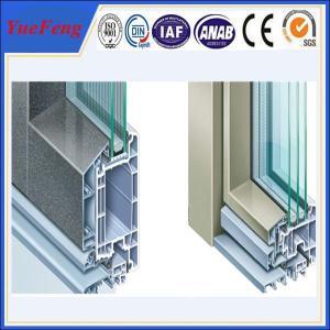 Aluminum profile windows and door manufacturer/ door frame aluminum extrusion Manufactures