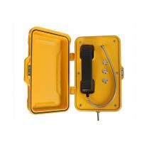 SIP Tunnel Industrial Weatherproof Telephone Wall / Pillar Mounted For Roadside Manufactures