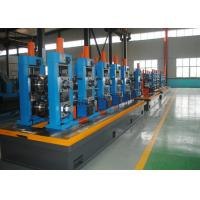 High Precision Carbon Steel ERW Tube Mill Line With Worm Adjustment Manufactures