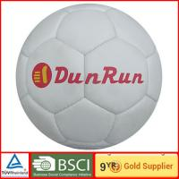 Hand stitched multi colors PU Leather Soccer Ball 4# Eco friendly foot ball Manufactures