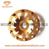 7 Inch PCD Grinding Cup Wheel for Angle Grinders Manufactures