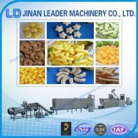 China easy operation snack food machinery extruder corn puff making machines on sale
