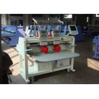 2 Heads Embroidery Machine For Hats And Shirts 1000000 Stitches Manufactures