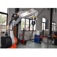 Industrial MIG Welding Manipulator , Rotating Welding Positioner 7 Axis 8 Axis Linkage Manufactures