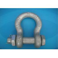 High Strength Forged Shackle Used for Tract Wire Rope and Other Tools in Construction Manufactures