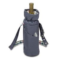 Picnic Time Wine Duffel cooler bag-Collection Insulated Single Bottle picnic bag-promotion Manufactures
