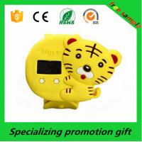 China Electronic Promotional Products Fashion Silicone Cartoon Watch For Children on sale