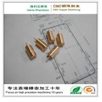 Precision CNC Brass Machining Component / CNC Machined Copper Part for Hardware Spare Part Manufactures