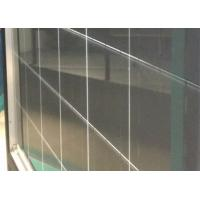 China 2.5mm Solar Panel Glass / Silk Screen Grid Painted Back Glass For Solar Modules on sale