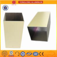 Colourful Powder Coated Aluminium Extrusions Lenth Or Shape Customized Manufactures