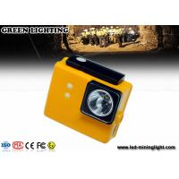 PC 6.4ah 3.7v Battery Cree Led Mining Light , Miners Lights For Hard Hats Manufactures