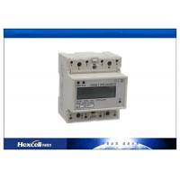 Customized Din Rail Kwh Meter Single Phase 230V Voltage RS485 Modbus Manufactures