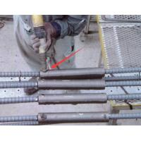 High Strength Concrete Grouted Rebar Splice Coupler , CT / CTH Pipe Sleeve Coupling Manufactures
