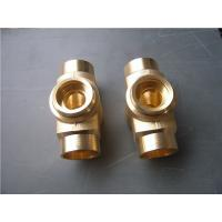 Buy cheap Lost wax investment casting process copper tube joint normal polish from wholesalers