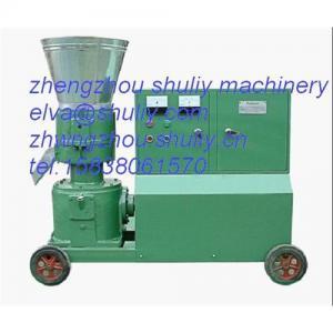 China Flat-die series pellet machine  0086-15838061570 on sale