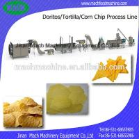 Corn Chips/Tortilla chips Process Line 304 stainless steel automatic snacks food process Manufactures