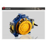 Lift Motor / Gearless Elevator Traction Machine With Load 408 - 1000 KG Manufactures
