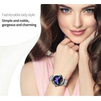 2019 High Quality Fashionable Round Screen  KW10 ladies smart watch With with Blood pressure Heart Rate sleeping monitor Manufactures