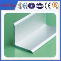 Quality aluminium angle profile 80mm*80mm*6mm angle aluminium profile for sale