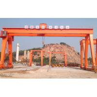 China 100KN - 3000KN Double Girder Gantry Crane 25 Ton Mobile Outdoor Steel Coil Lifting on sale
