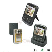China 1V2 3.5 inch Wireless video door phone with Peephole for distance 500M on sale