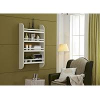 Floating Wall Wood Display Rack Shelves For Living Room 4 Shelf Storage Stand Manufactures