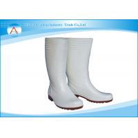 China Pharmaceutical Industrial Anti slip Worker Safety Rubber Rain Boots on sale