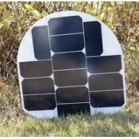 Boat Flexible Marine Solar Panels Off Grid / Back Up Solar Power Systems 40W Manufactures