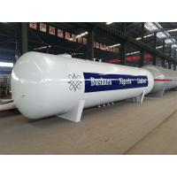 Horizontal LPG Bullet Storage Tank / LPG Truck Tanker For Bottling Plants Manufactures