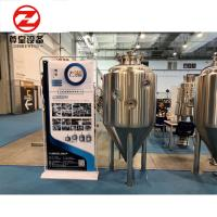 SS304 / 316 / Copper Cone Bottom Fermenter PU Foam With CIP Cleaning System Manufactures