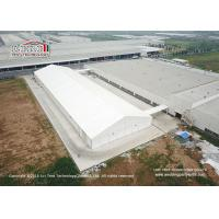 40m Width Aluminum Frame Industrial Storage Tents With Ventilation Windows Manufactures