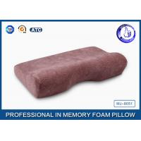 Soft Slow Rebound PU Magnetic Memory Foam Pillow / Therapeutic Sleeping Pillow Manufactures