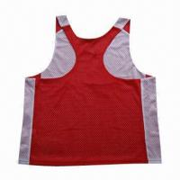 Buy cheap Women's Singlets with Racerback T-back, Made of Poly Mesh, Various Colors are from wholesalers