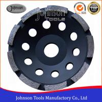 China 5 Concrete Grinding Wheel For Stone Grinding , Single Row Cup Wheel , Wet Grinding on sale