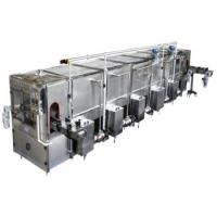 5T / H Tube UHT Milk Processing Line With Aseptic Carton , Aseptic Pouch Package Manufactures