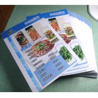 Menu Made By Pvc Plastic Cards Manufactures