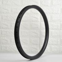 "20"" Professional Carbon BMX Rims OEM Logo Decal And Painting Compact Size Manufactures"