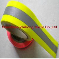China Nomex flame retardant reflective material warning tape on sale