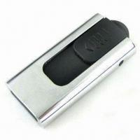 Retractable Memory Stick with COB Technology, Available in Silver Manufactures