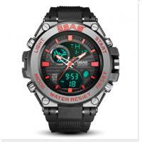 Multifunctional Waterproof Watches For Men With LED Silicone Night Light Alarm Clock Manufactures
