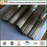 Hot Sale Stainless Steel Capillary Tube Sizes Refrigeration Manufactures