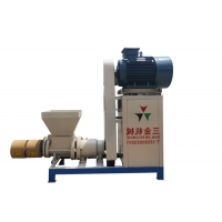 China Rice Husk Extruder 80mm Biomass Briquette Making Machine on sale