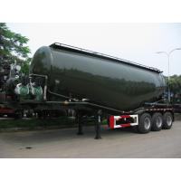 37000L Aluminum Powder Tanker Semi-Trailer with 3 axles for 34Tons Cement Powder   9373GFLAL Manufactures