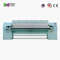 66 Needles Single Color Quilting Emboridery Machine With Auto Stopping Function Manufactures