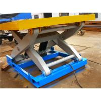 China Utility cargo indoor scissor lift table 1500mmx750mm CE / ISO9001 Certification on sale