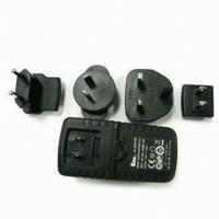 1.25A to 4A Ktec Wide Range Travel Power Adapters Adapter with 3.0 to 24.0V Output Voltage Manufactures