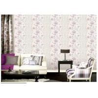 Luxury 1.06 Meter Wallpaper For Lounge Wall , Waterproof Vinyl Wall Covering Manufactures